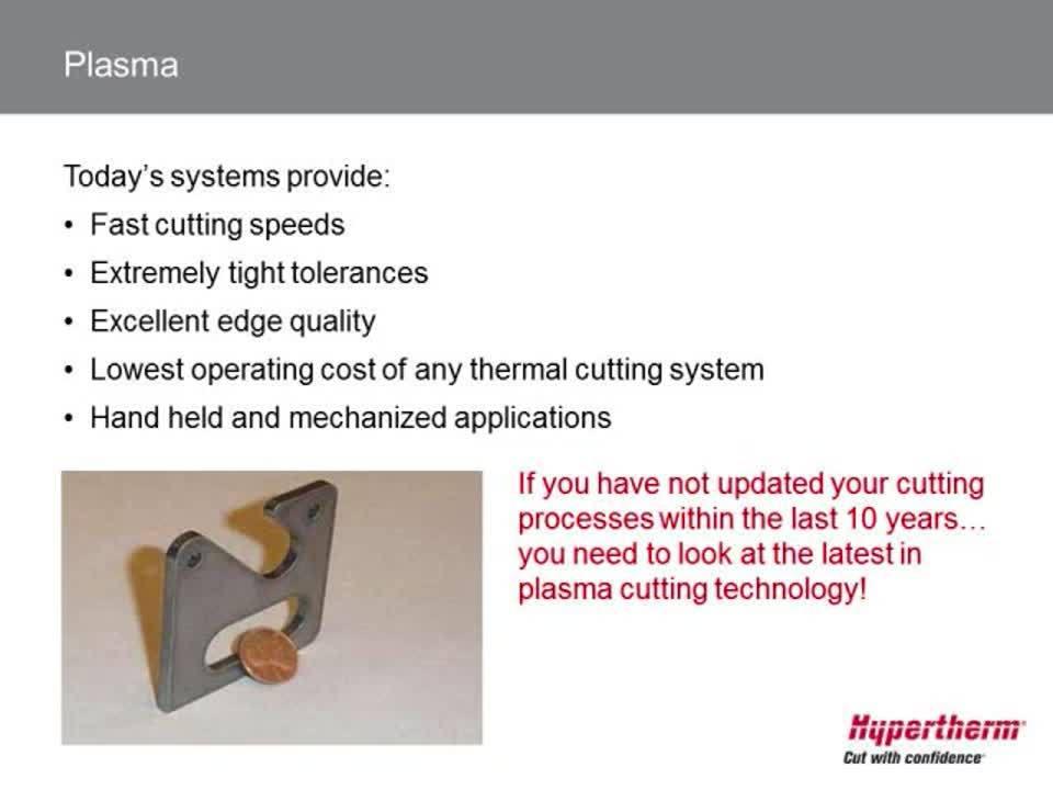 Plasma, laser, waterjet, oxyfuel