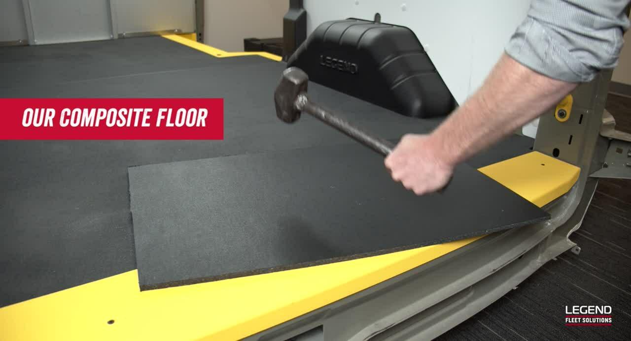 Legend Composite Flooring vs. Plywood Video