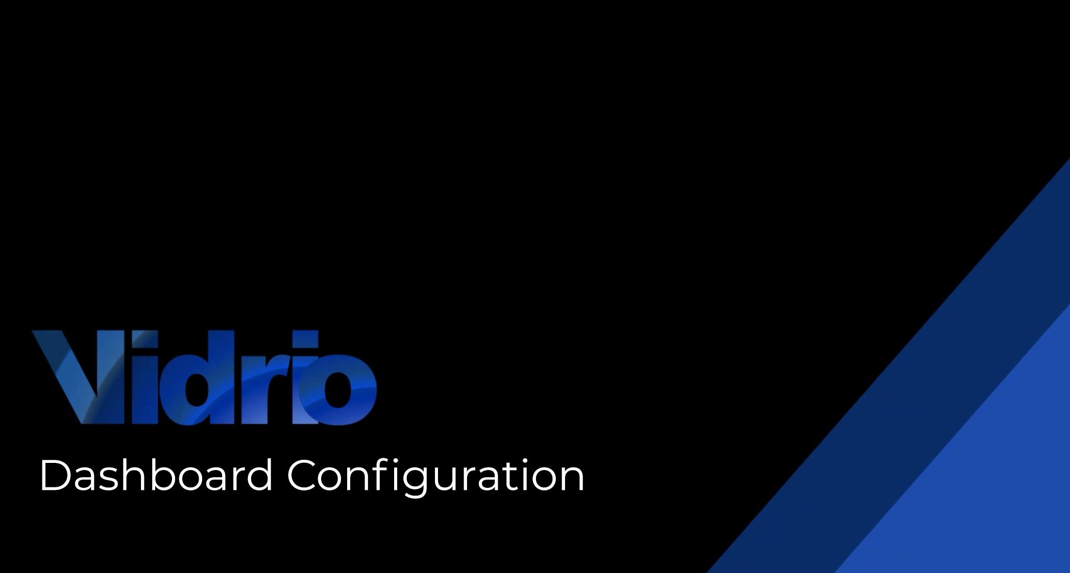 Dashboard-Configuration