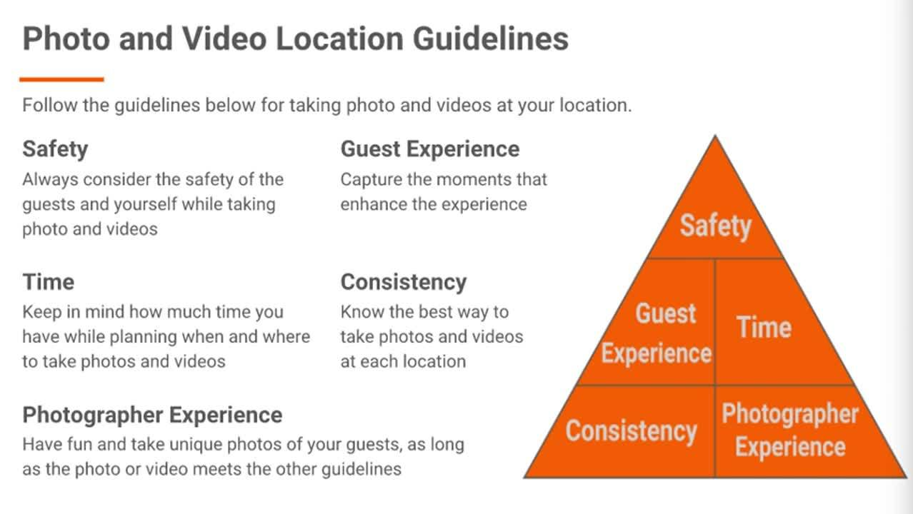 Photo and Video Guidelines