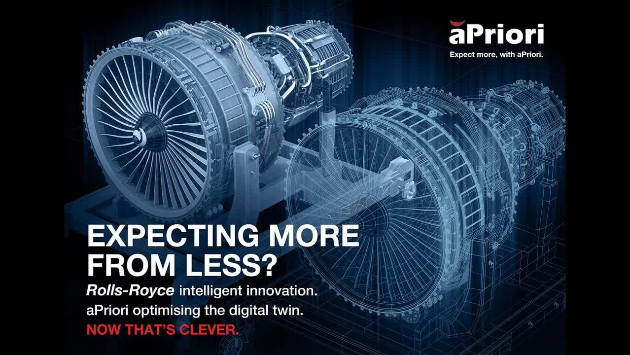 Rolls-Royce & aPriori Digital Twin Full Video - LinkedIn Ads