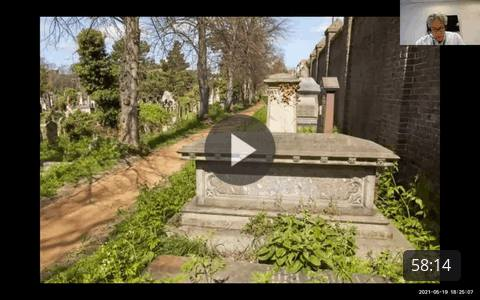Wesley Kerr and Andrew Williams discuss the restoration of Brompton Cemetery