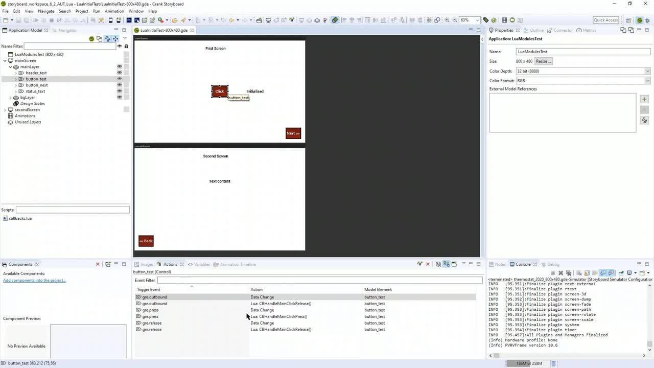 Lua for UI Development and Testing Webinar 2020