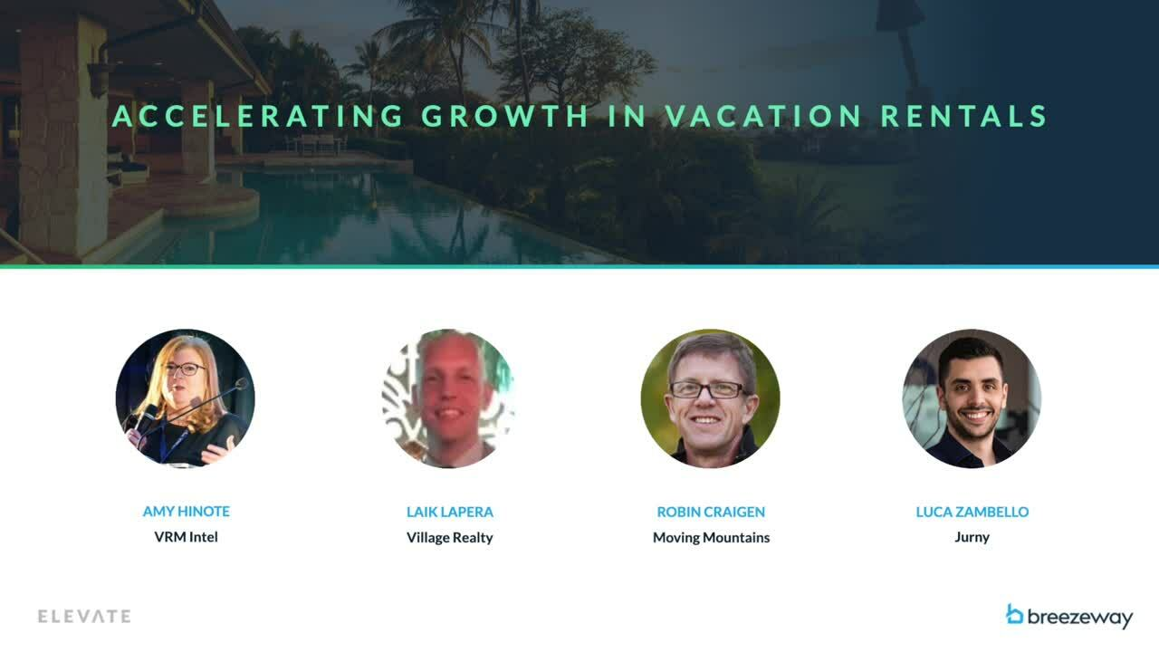 Accelerating Growth in Vacation Rentals