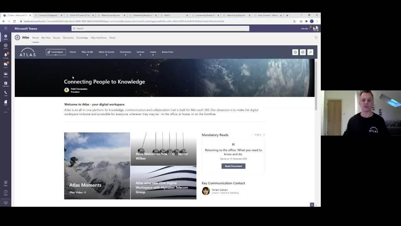 Webinar - Teams as a platform for communication collaboration - snippet