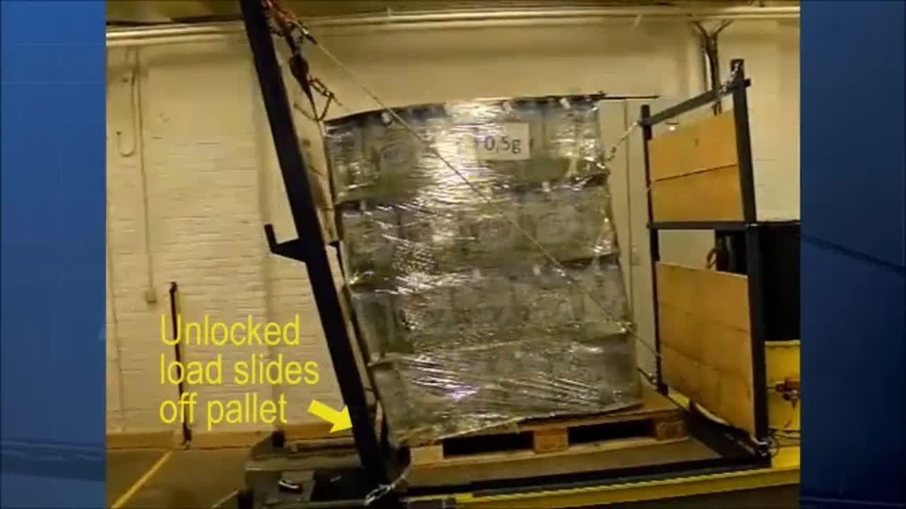 Lantech Stretch Wrapper Pallet Grip Story Video 0413-1