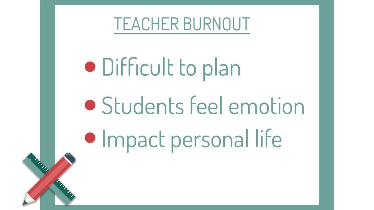 Keely - Teacher Burnout