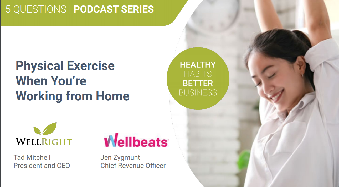 5 Questions - Physical exercise when you're working from home