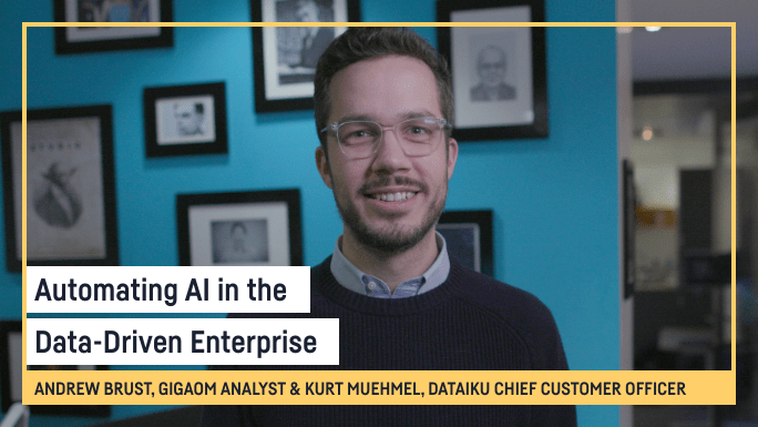 Automating AI in the Data-Driven Enterprise