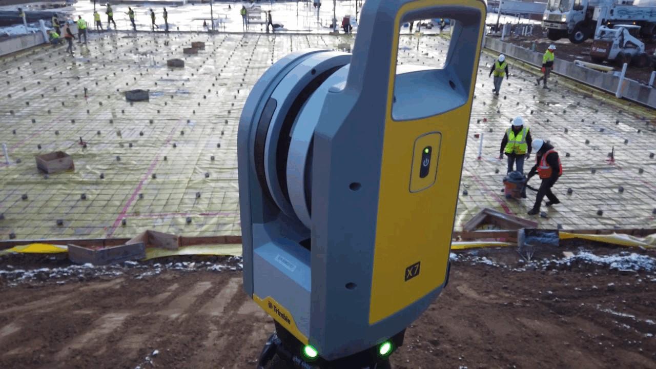 Trimble X7 3D Laser Scanner - Concrete