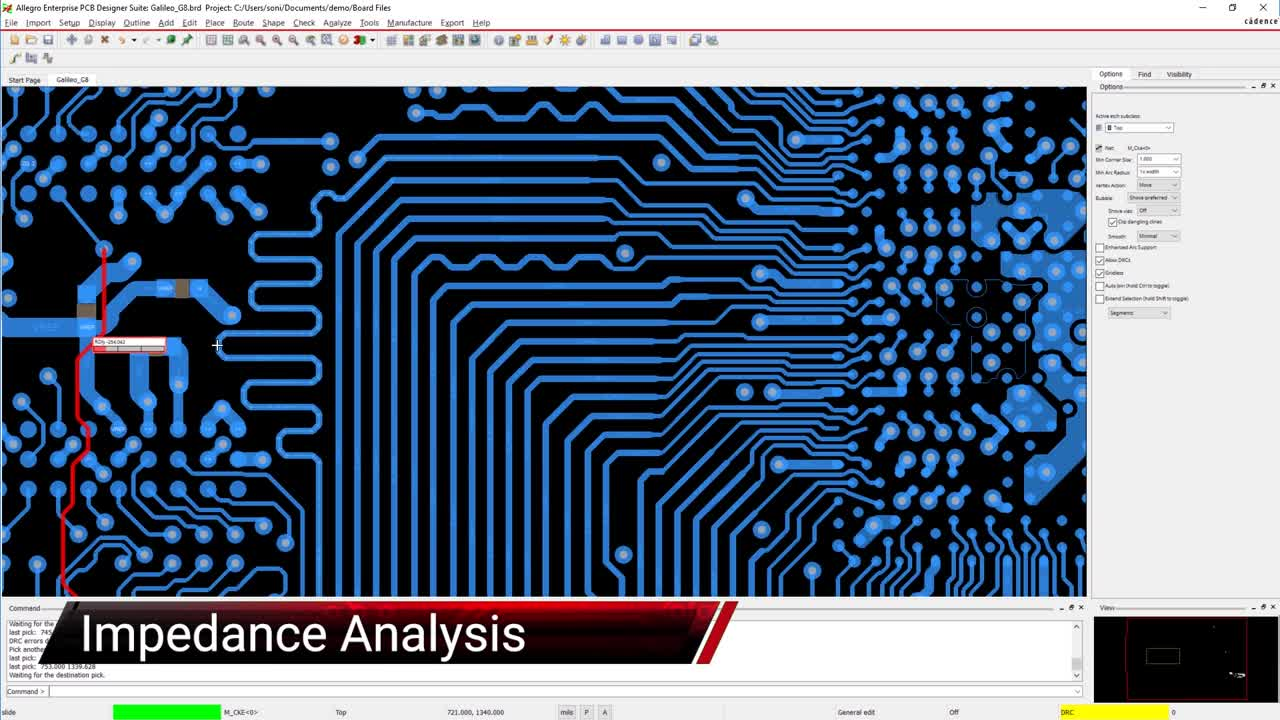Allegro - Impedance Vision and Analysis