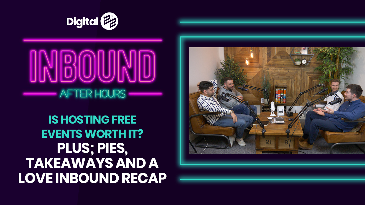 Inbound After Hours: Is hosting free events worth it? Plus; pies, takeaways and a LOVE INBOUND recap.