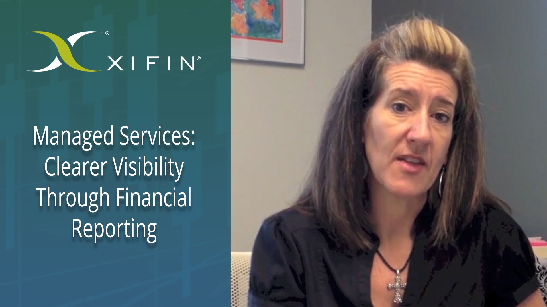 XIFIN Managed Services - Clearer Visibility Through Financial Reporting