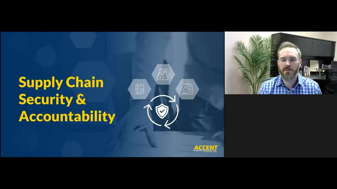 Getting Started with CMMC - Supply Chain Accountability