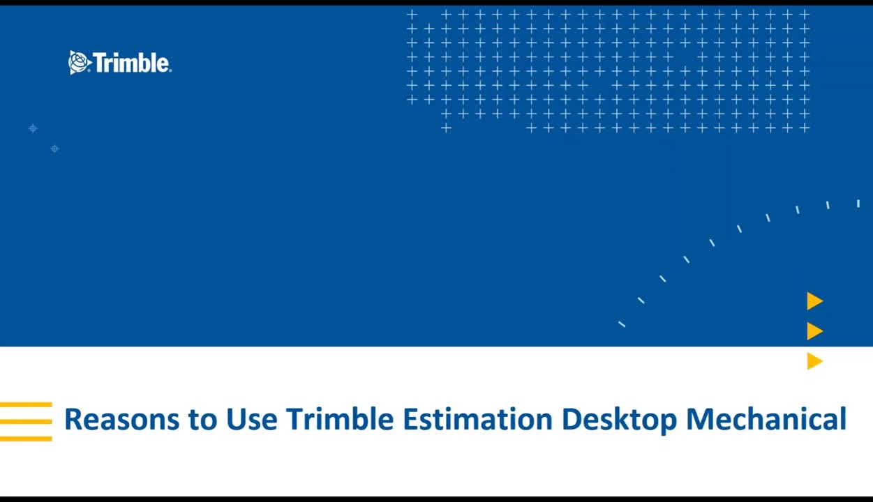 5 Reasons Mechanical Contractors Use Trimble Estimation Desktop Mechanical