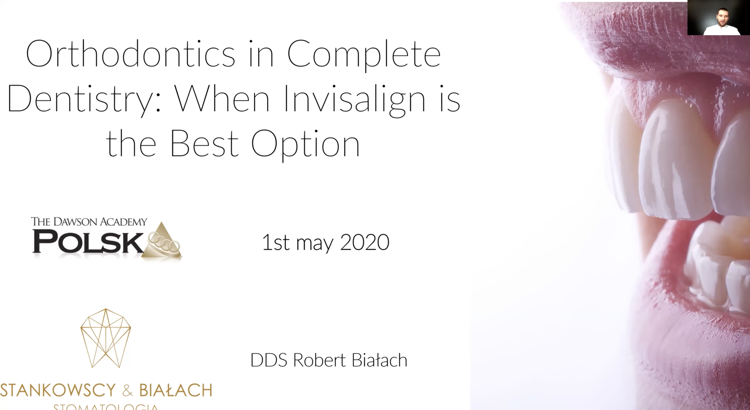 Webinar: Orthodontics in Complete Dentistry: When Invisalign is the Best Option