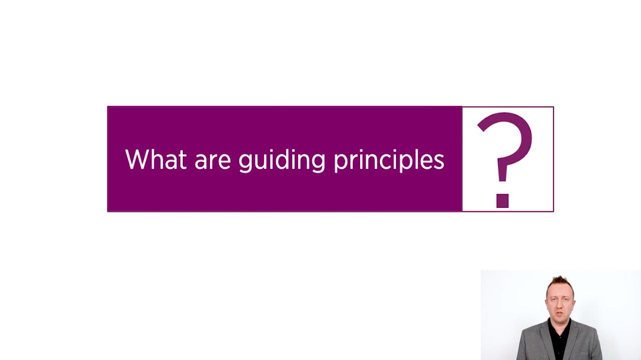 ITIL 4 Guiding Principles intro do LP o GP