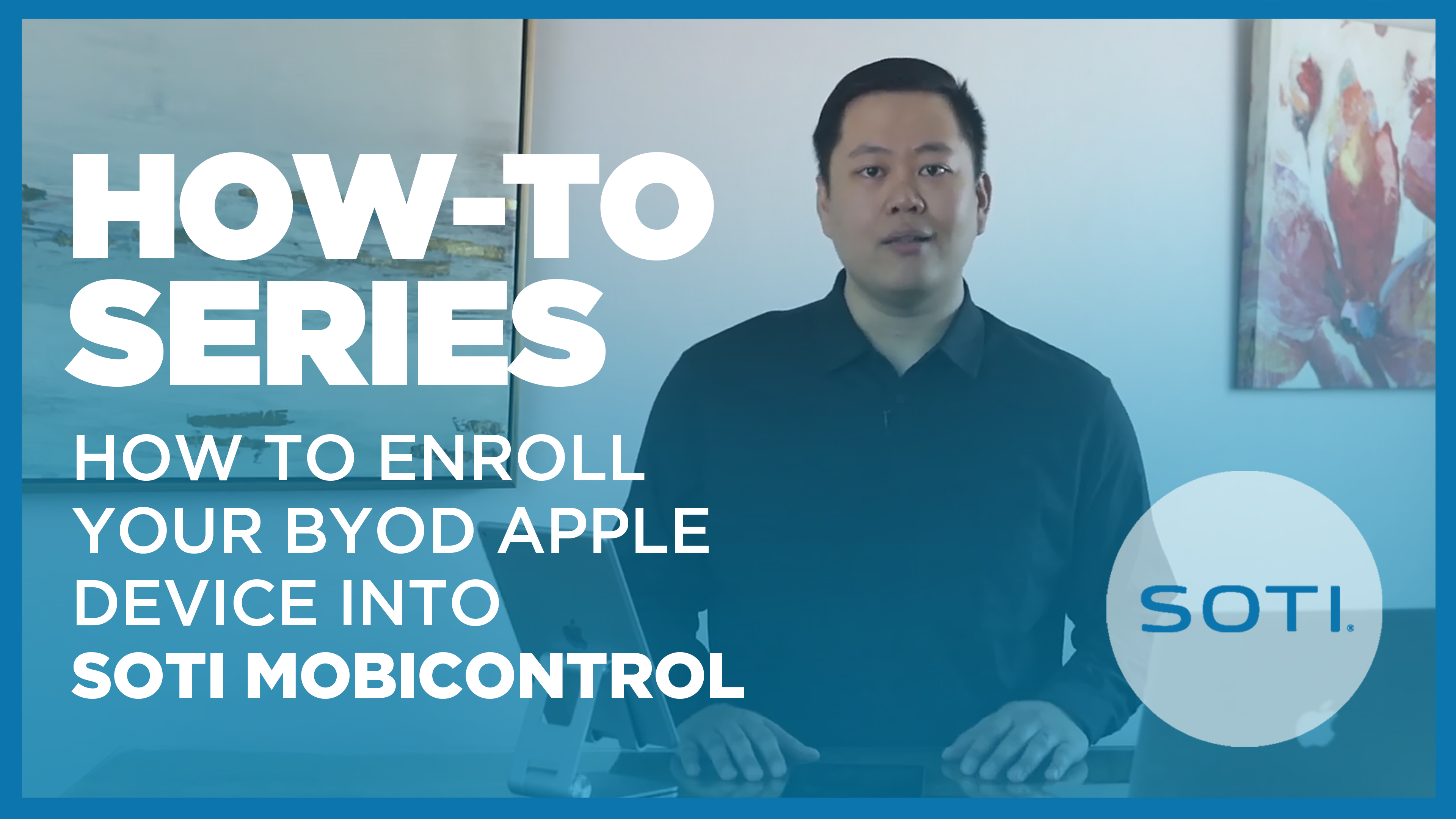 Video on How To Enroll Your BYOD Apple Device into SOTI MobiControl