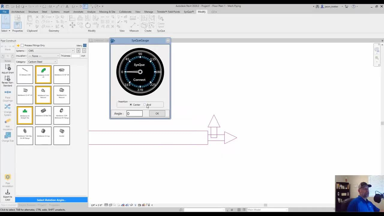 SysQue Piping 101 Training Series Part 4: Drawing Main Runs