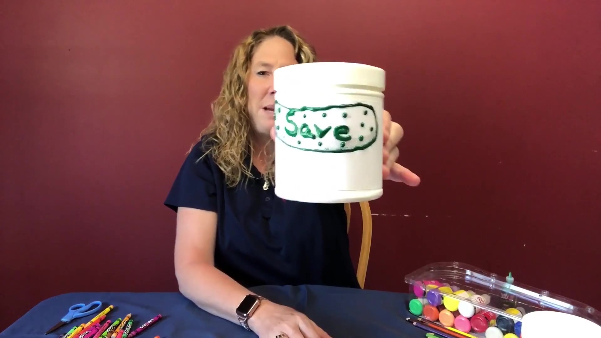 Smart Money Activity -Piggy  Bank-Tina Wilson