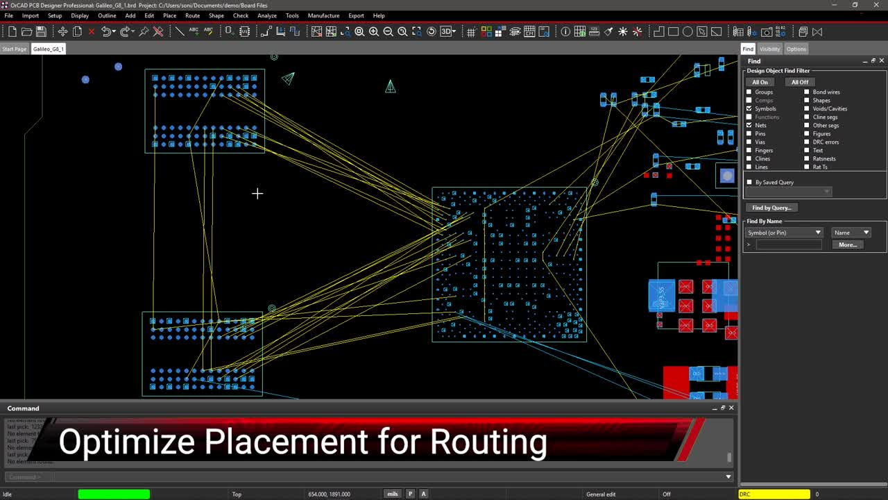 Optimize Placement for Routing