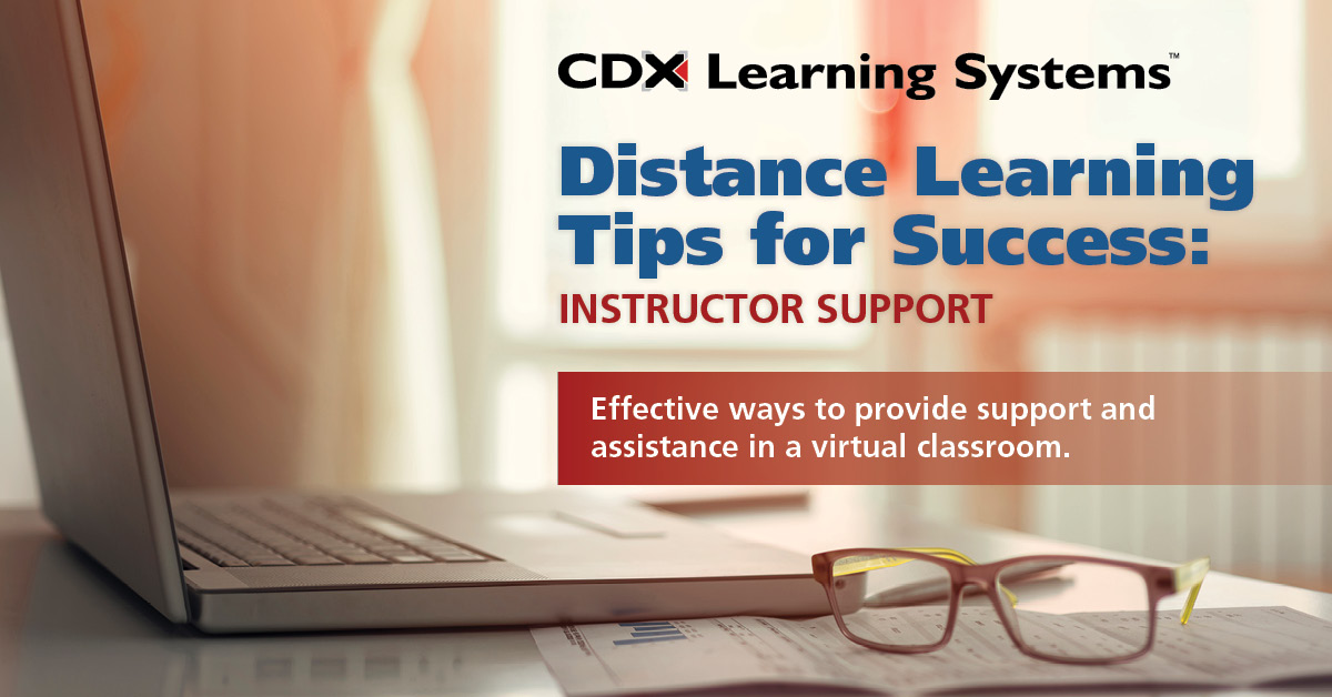 CDX - Distance Learning Instructor Support-1