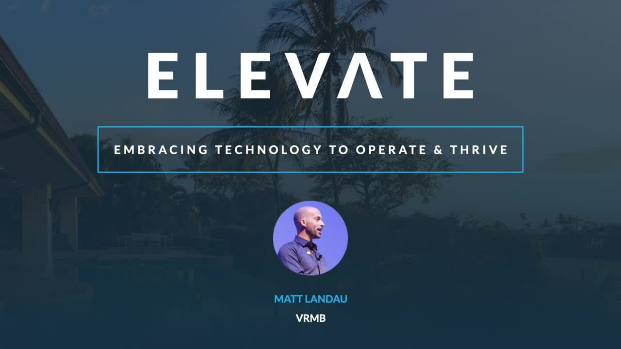 Embracing Technology to Operate & Thrive