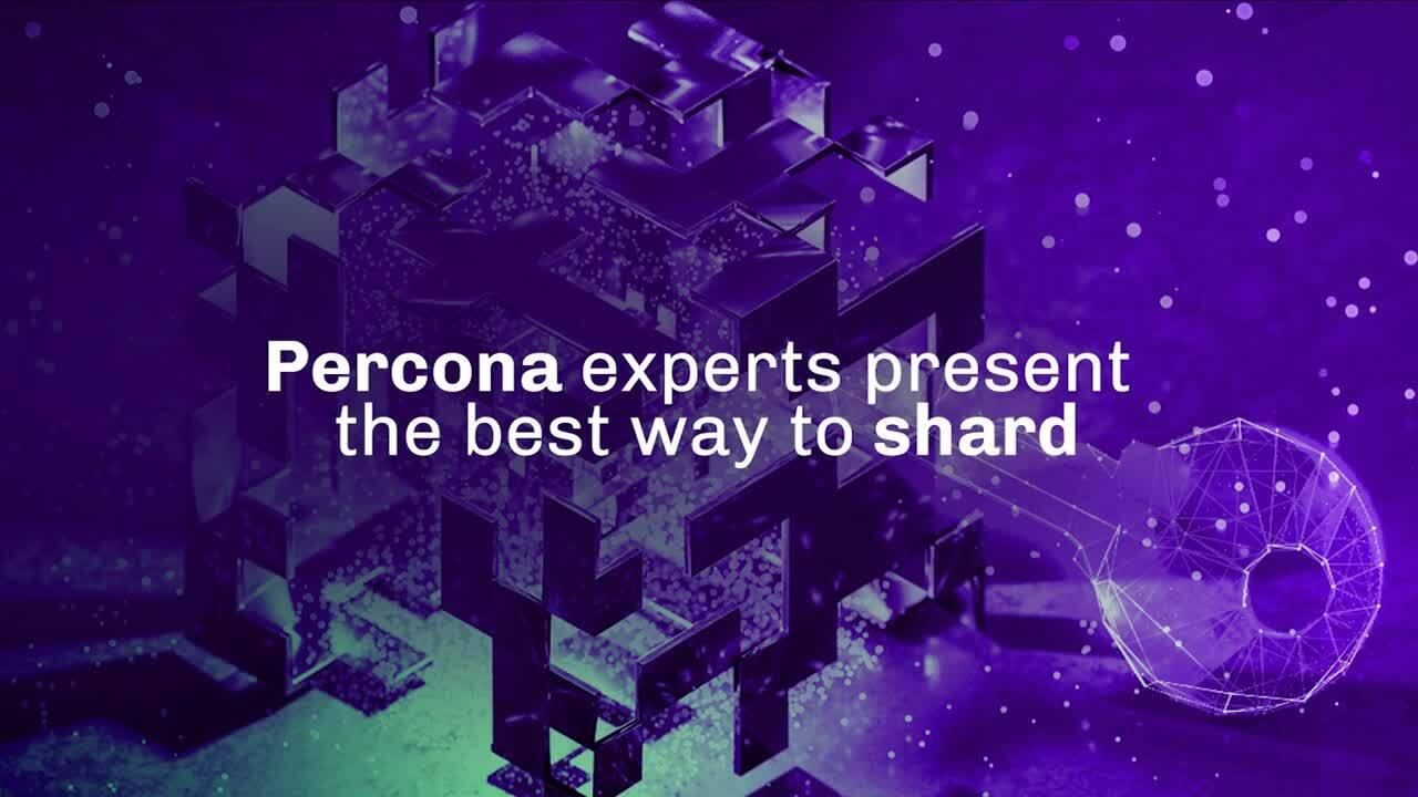 Percona Sharding final video-1