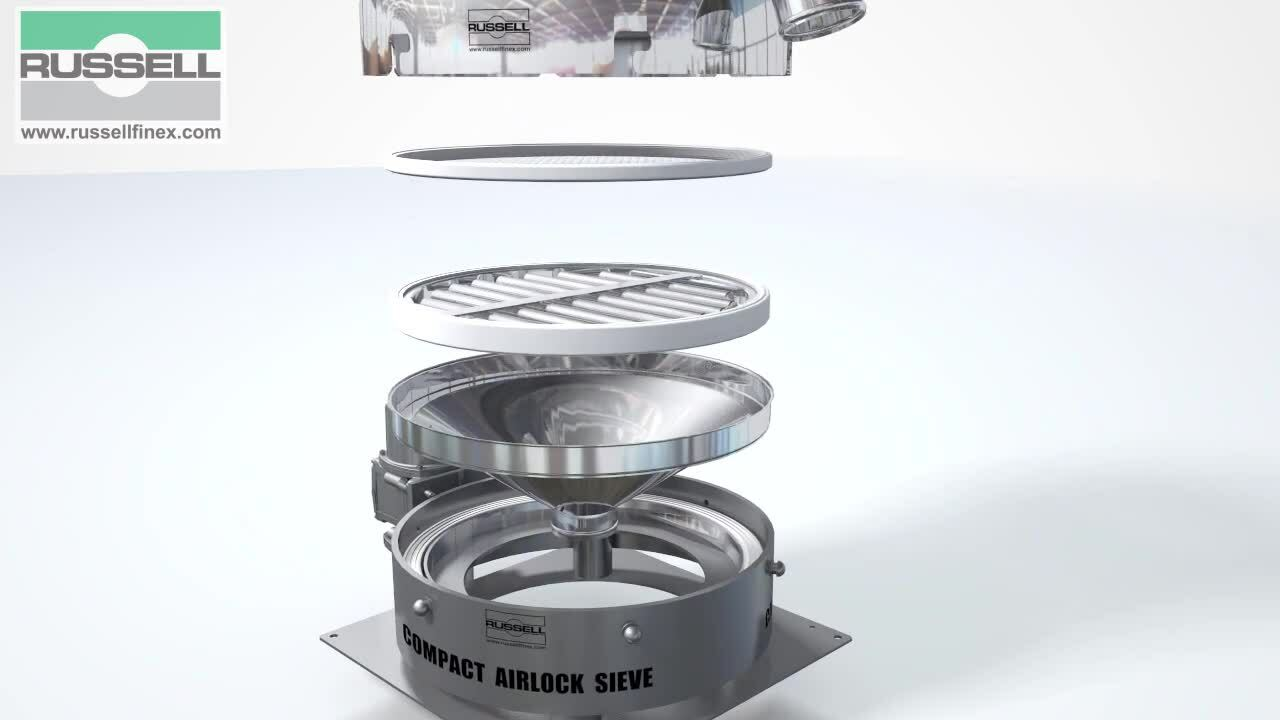 Vibratory_sifter_Russell_Compact_Airlock_Sieve