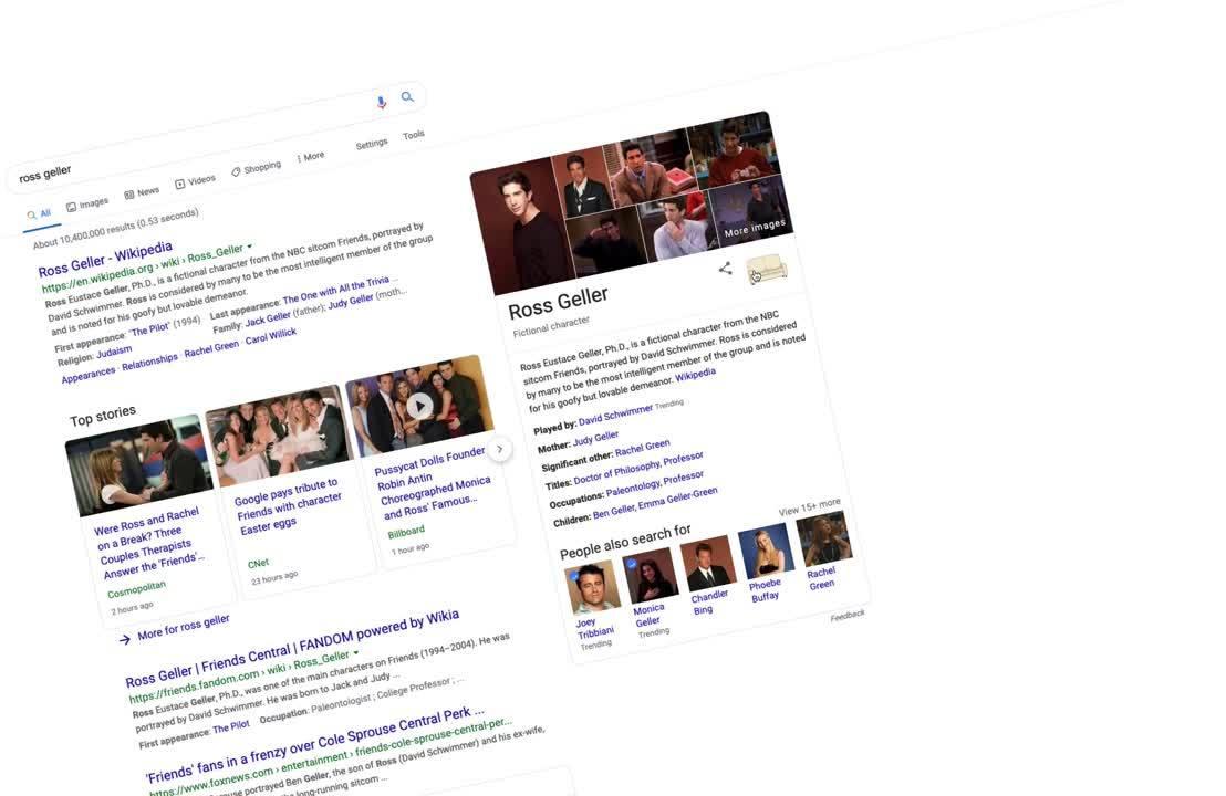 Google Ross Geller 2