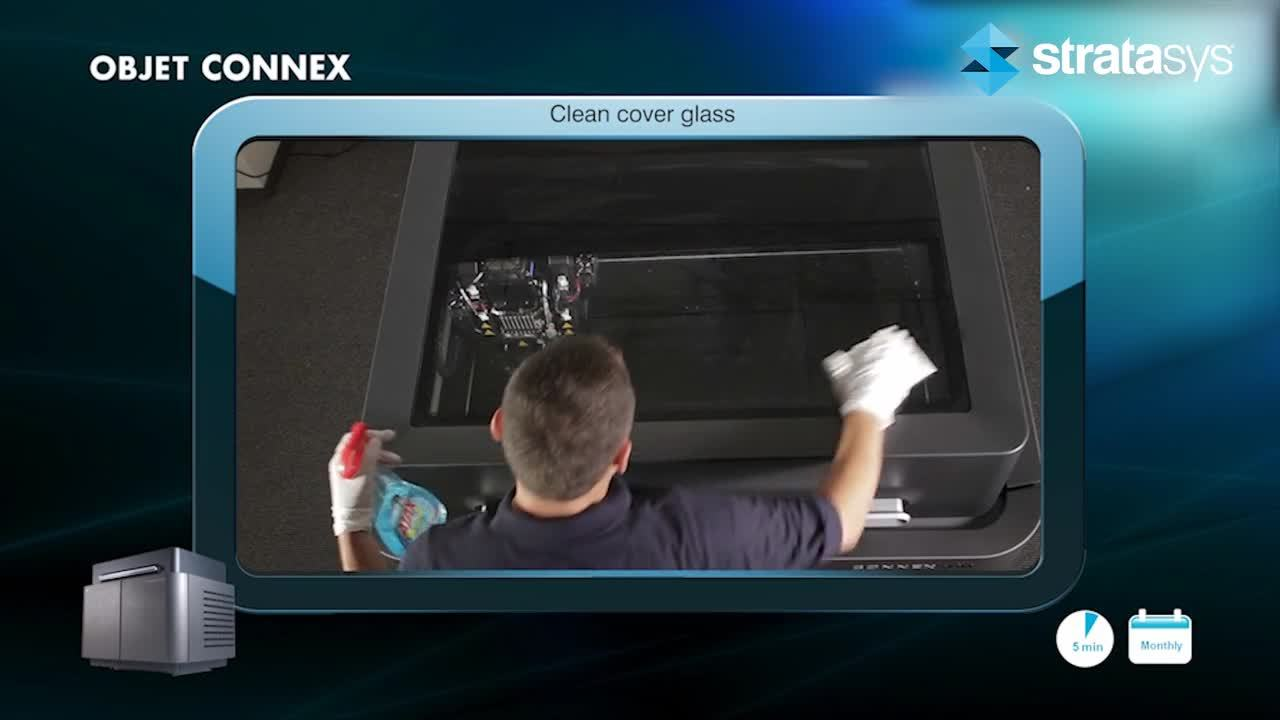 Glass Cover Cleaning - Connex  %>