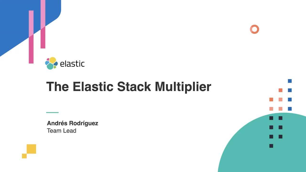Video for Análisis a fondo de roadmap del Elastic Stack
