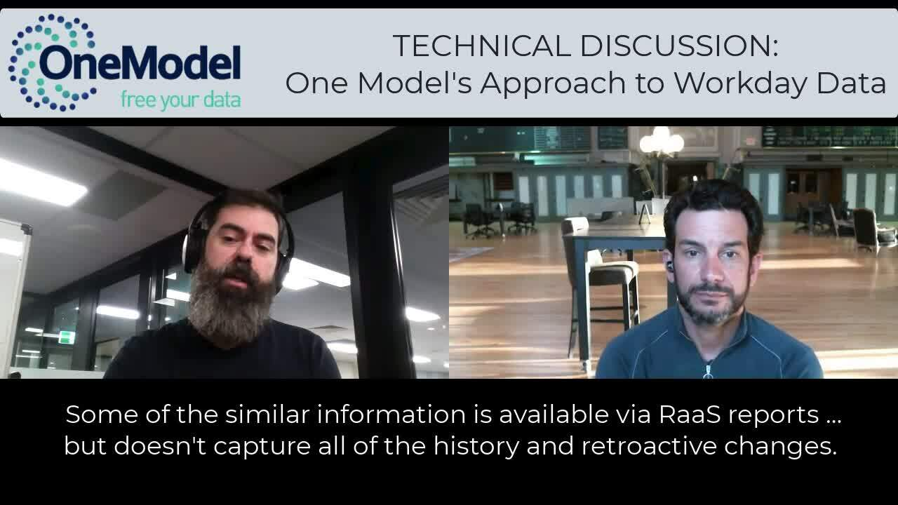 VIDEO - Workday Whitepaper - Tech discussion with Dave (15jun2021)