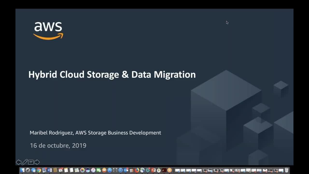 Webinar: Usando Hybrid y Edge para migrar tus datos a AWS