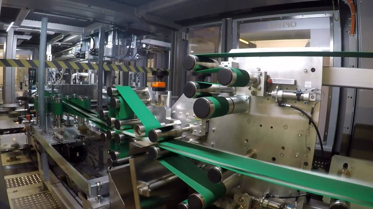 Optima Nonwovens and Intigena increase speed and flexiblity in baby diaper machine using iTRAK