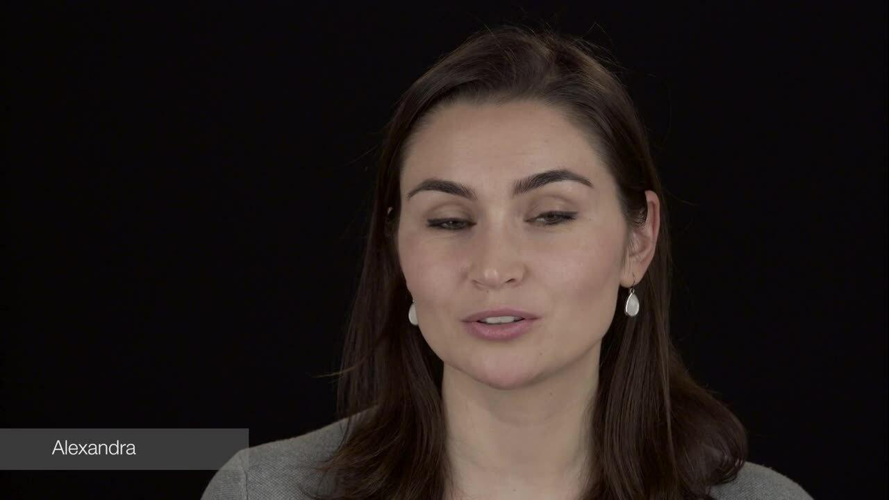 Alexandra Testimonial