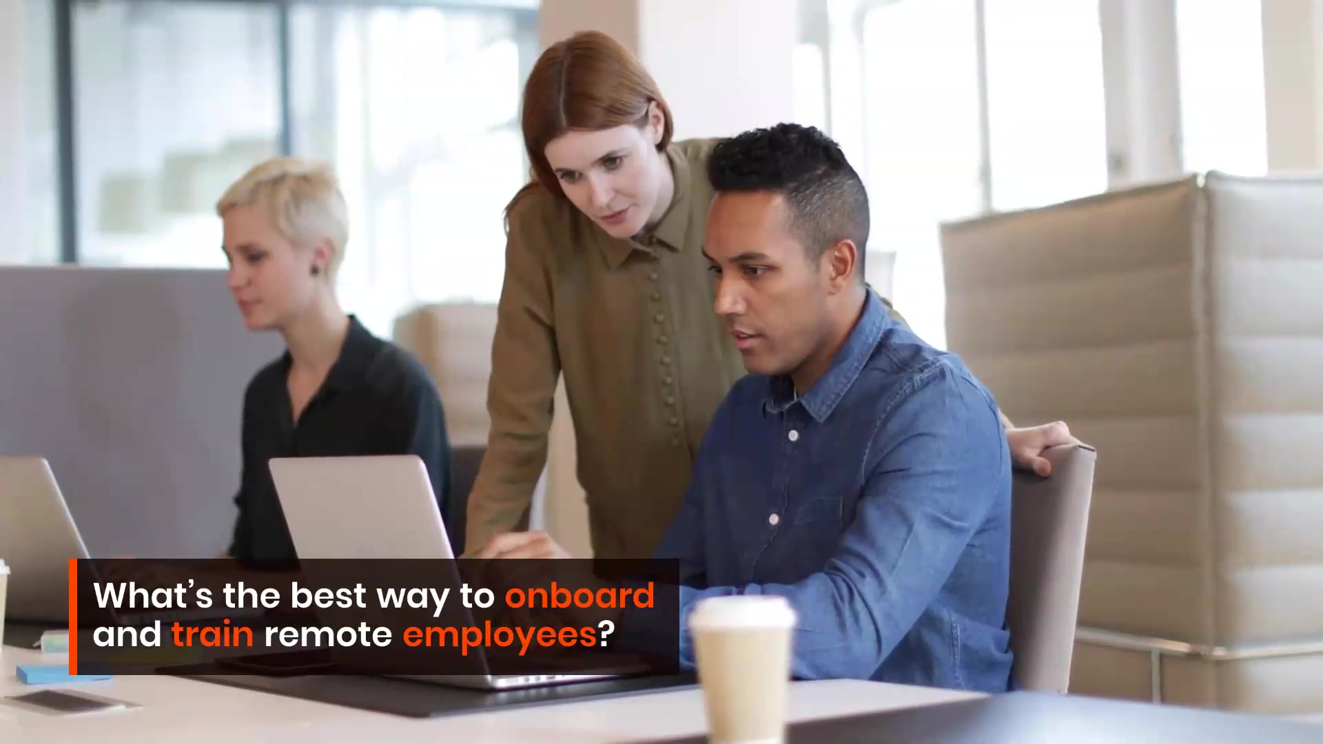 Remote employee onboarding and training using Apty