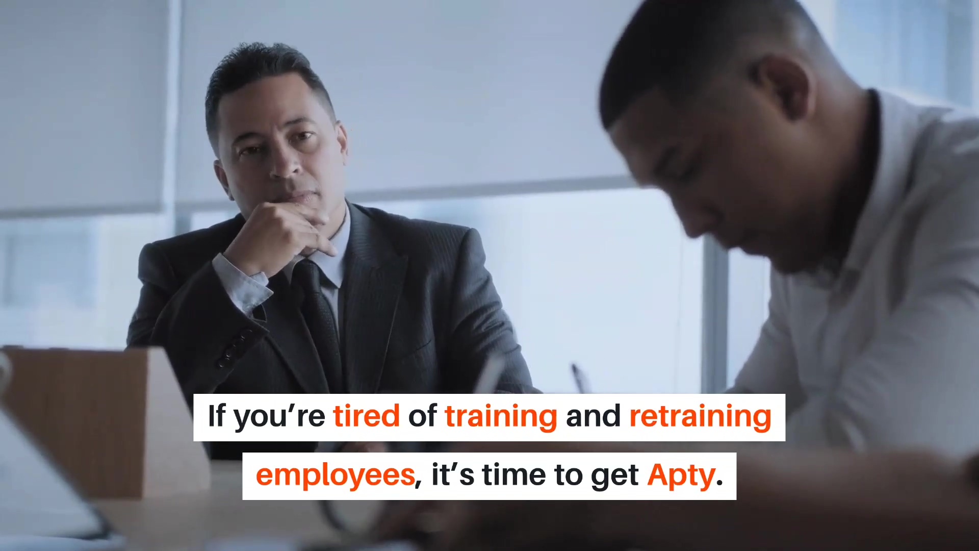 Training and retraining employees