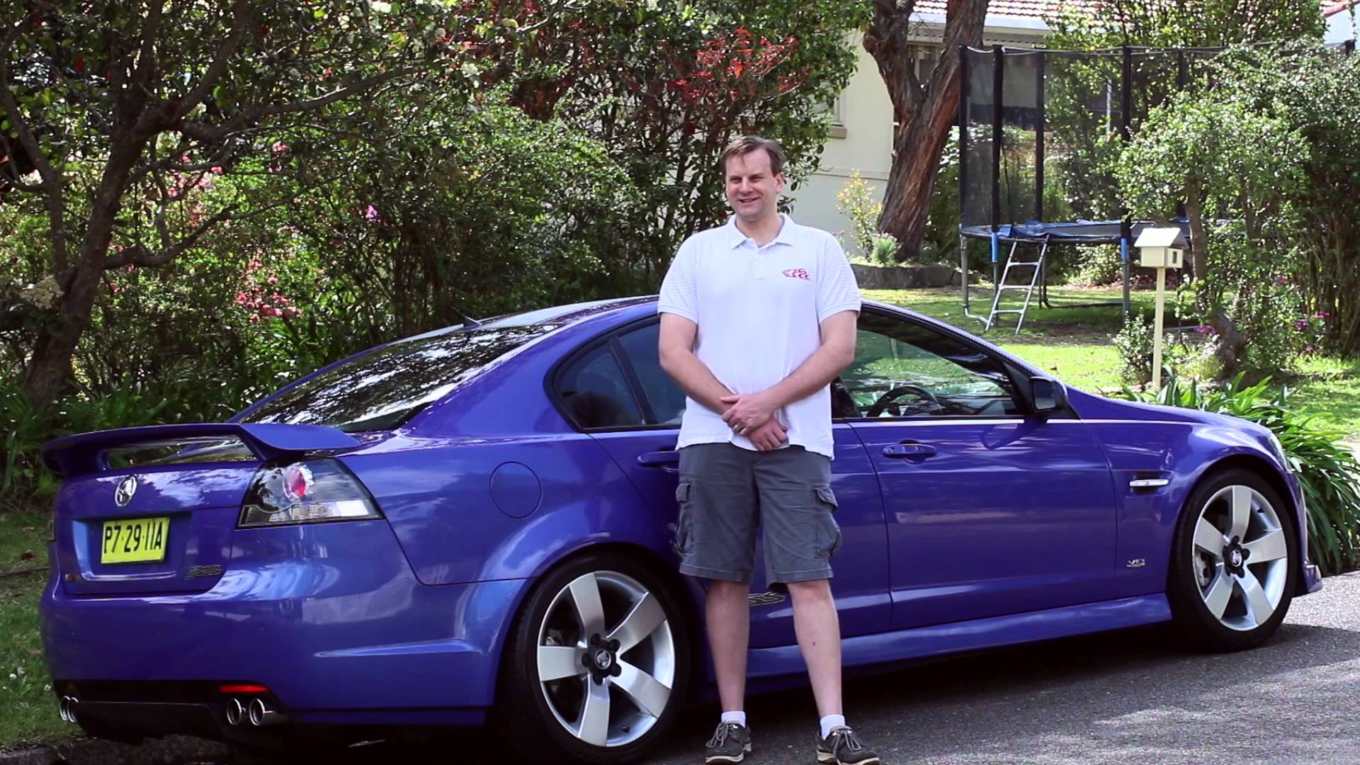 Insuring what you love: Brian and his Holden V8