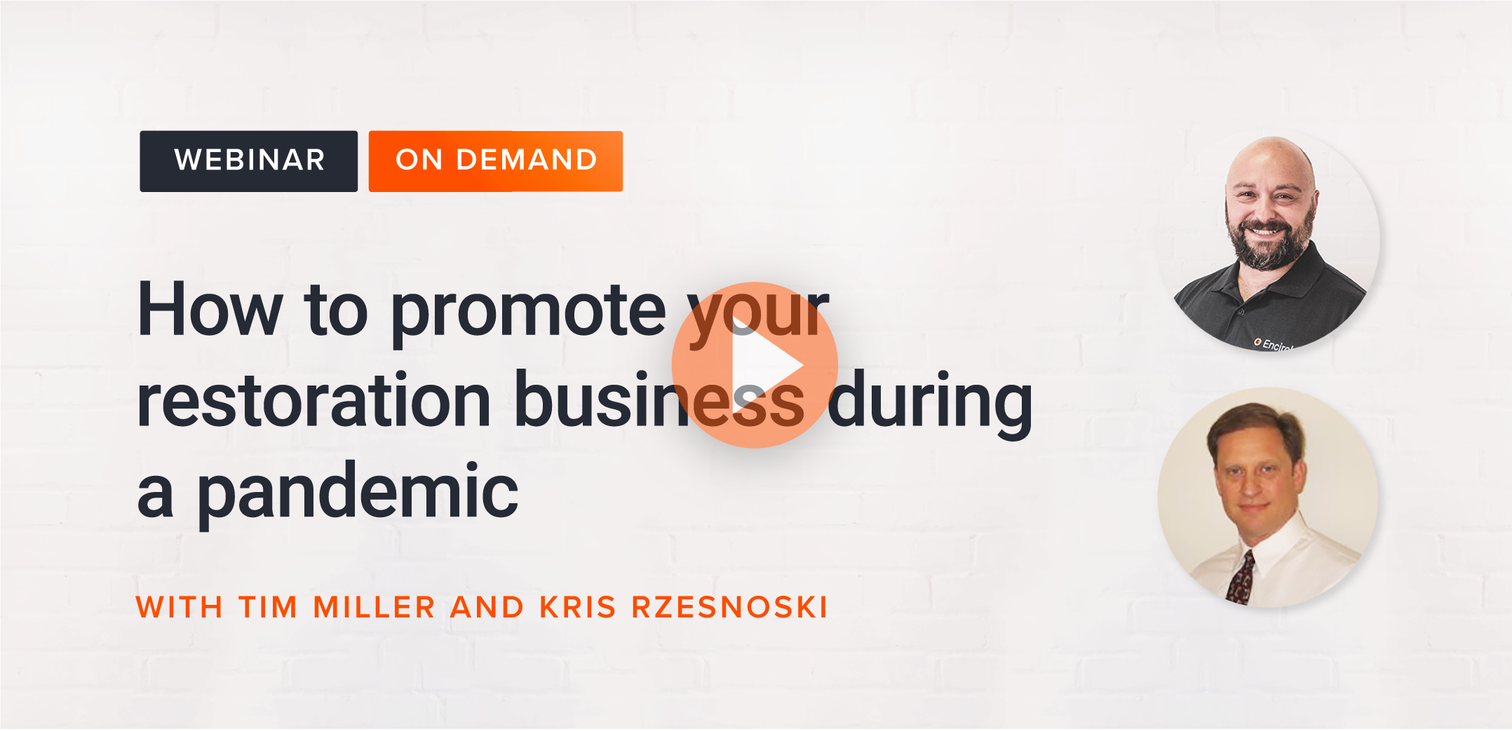 How to promote your restoration business during a pandemic