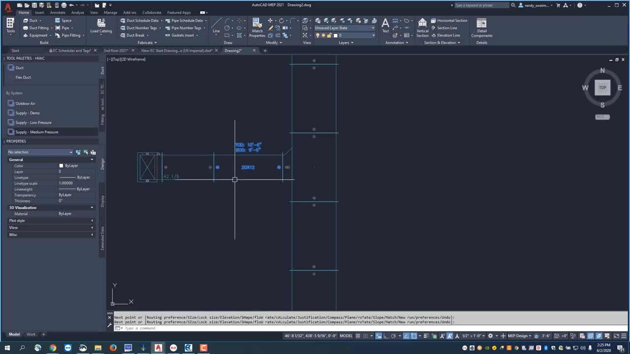 Getting Started with EC-CAD HVAC