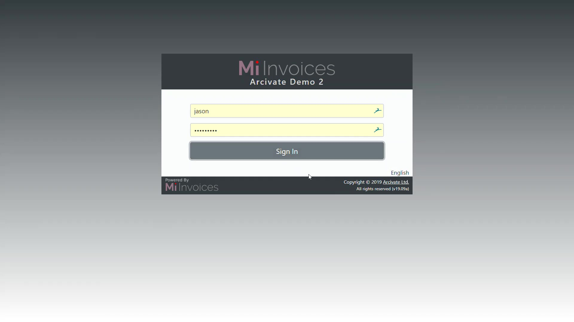 Website Mi Invoices