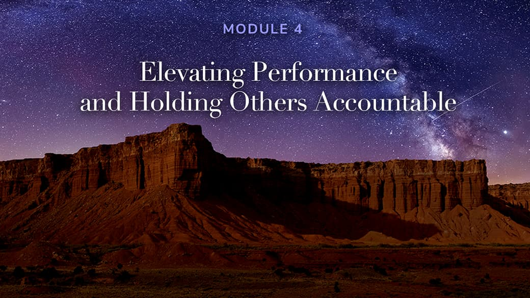 preview image for Elevating Performance and Holding Others Accountable