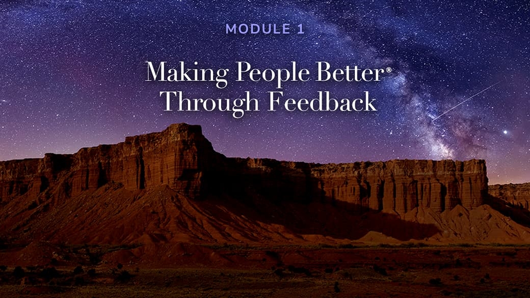 preview image for Making People Better Through Feedback