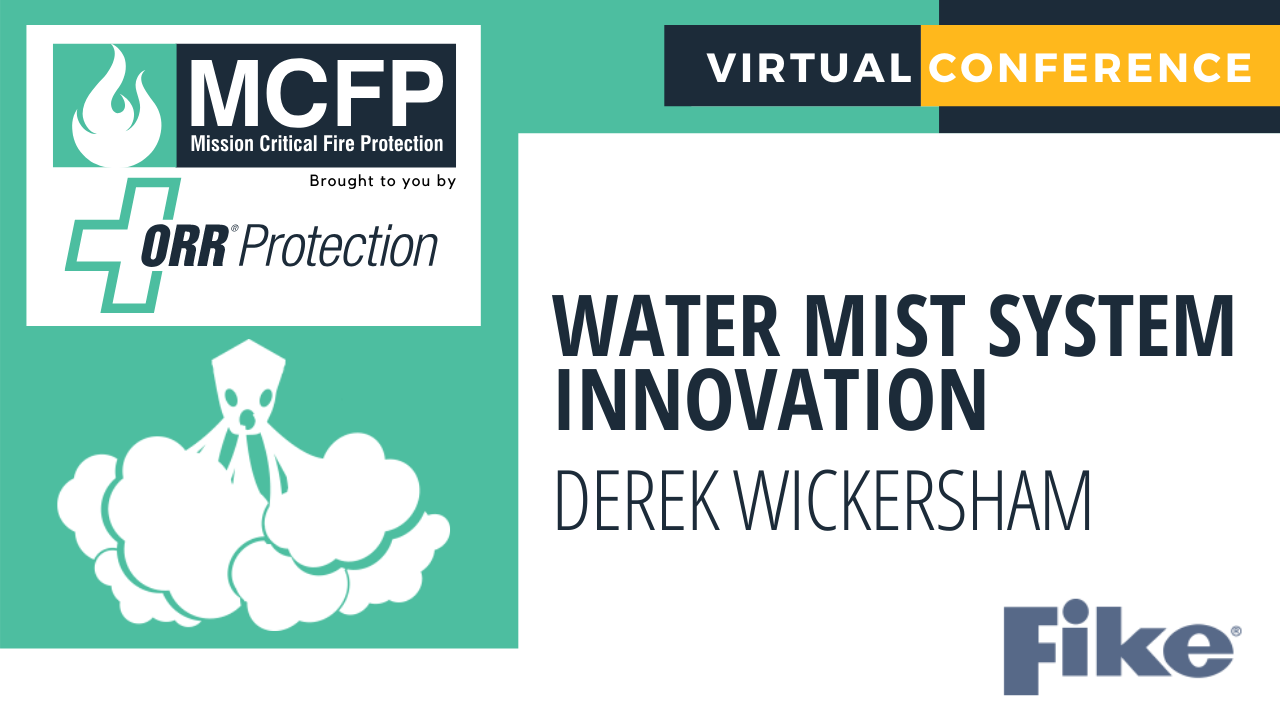 Water Mist System Innovation