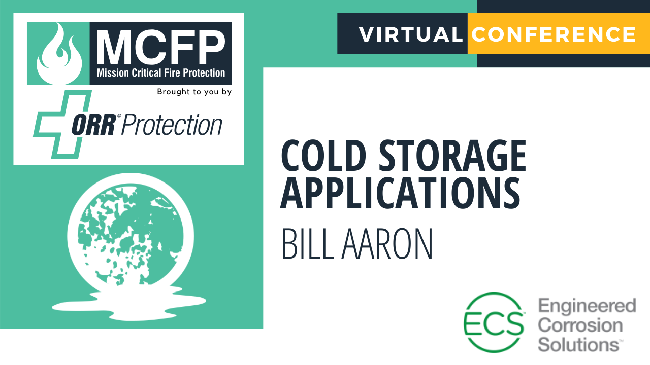 ECS - FIRE SAFETY FOR COLD STORAGE