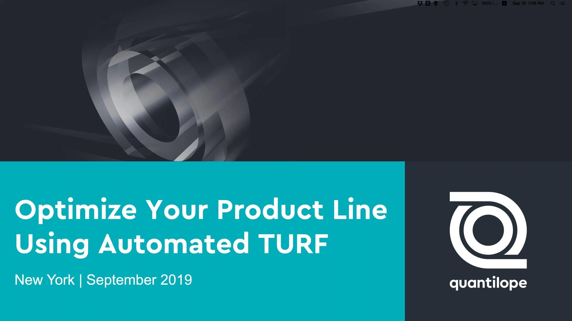 qlp TURF Webinar 2019