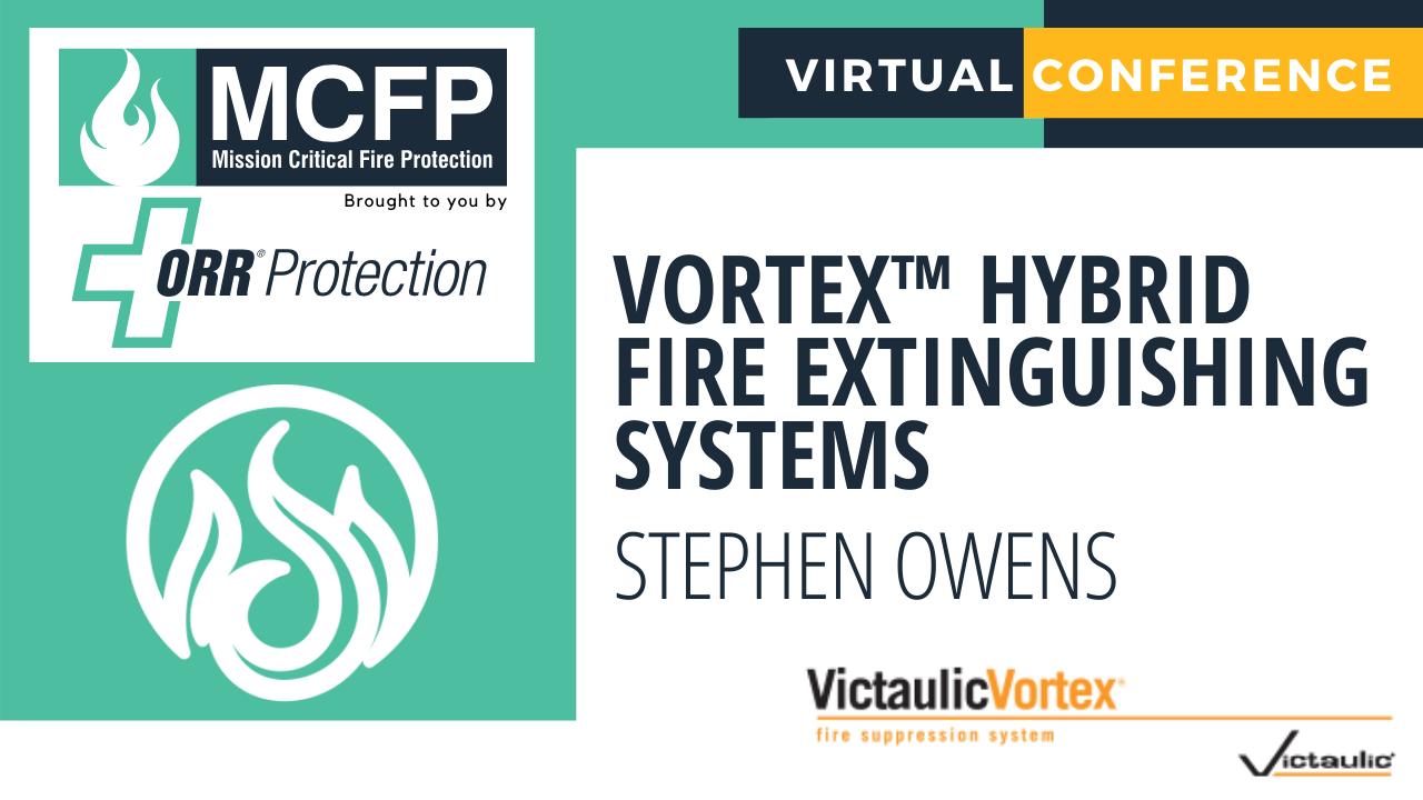 Victaulic Vortex Hybrid Fire Extinguishing System