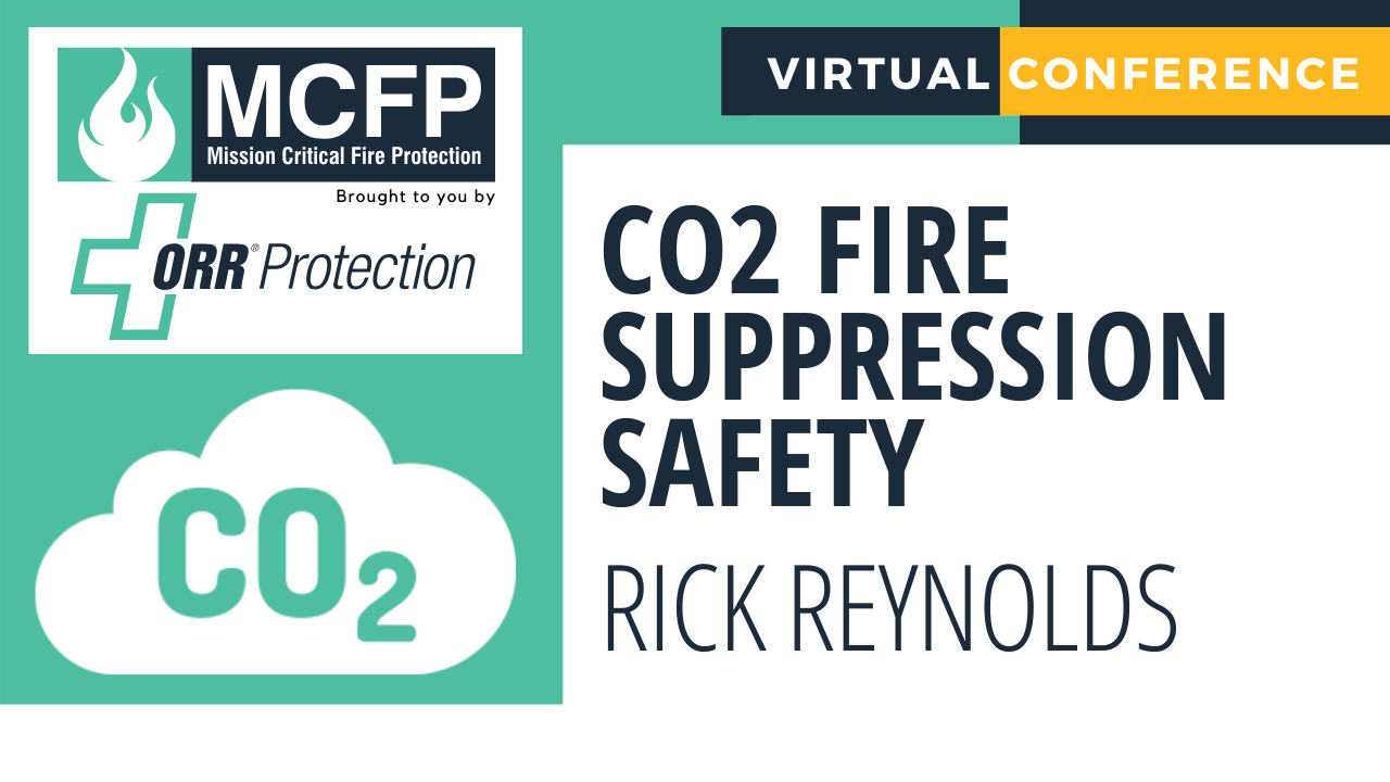 CO2 Fire Suppression Safety