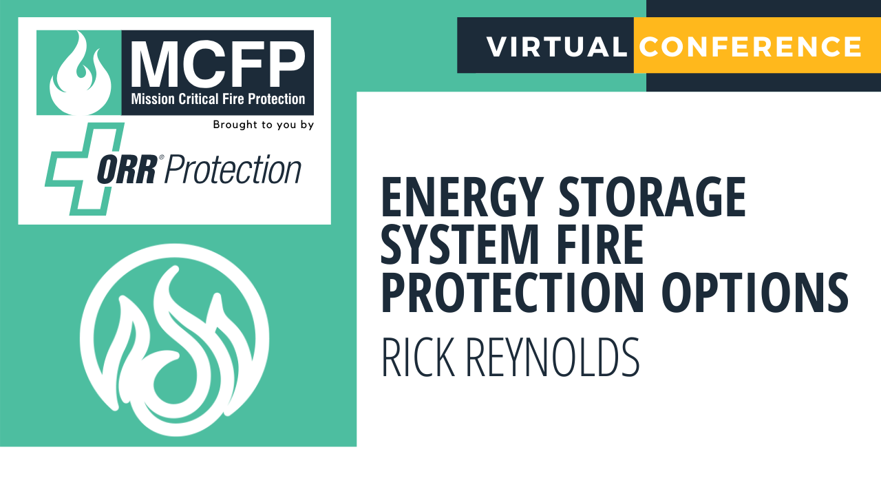 Energy Storage System Fire Protection Options